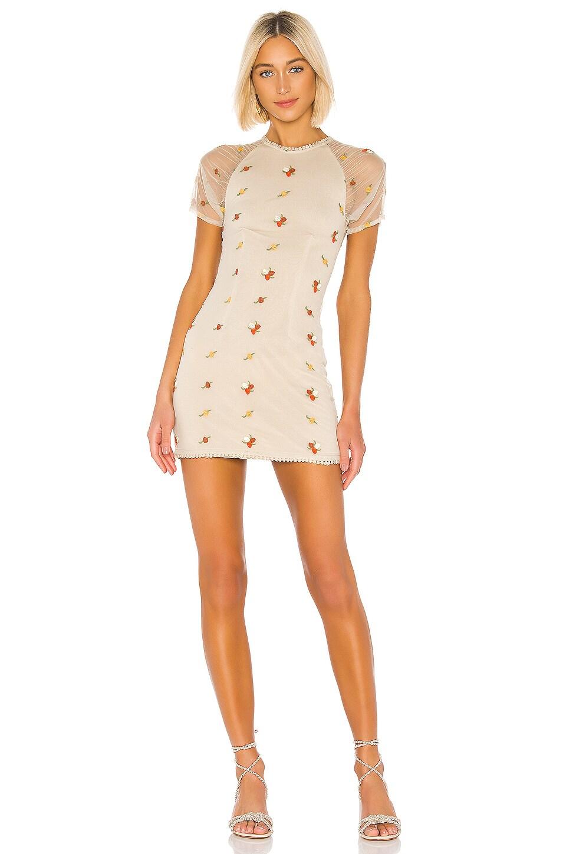House of Harlow 1960 X REVOLVE Hilde Dress in Oatmeal