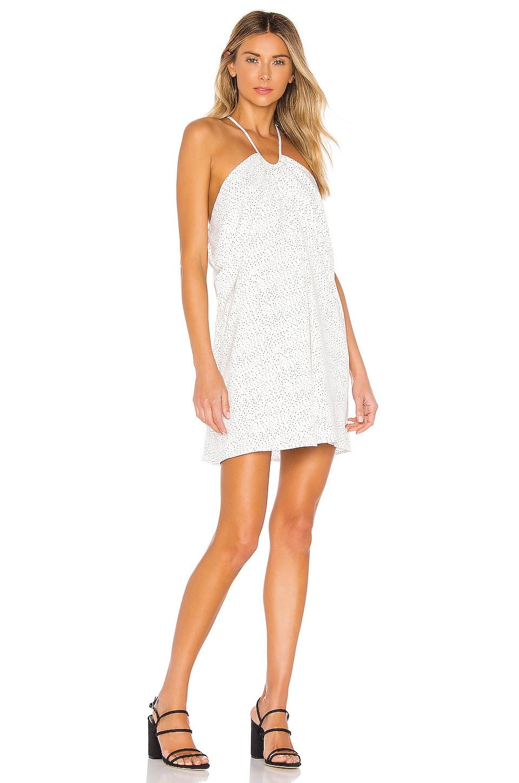 House of Harlow 1960 x REVOLVE Rosalin Mini Dress in White & Black Dot