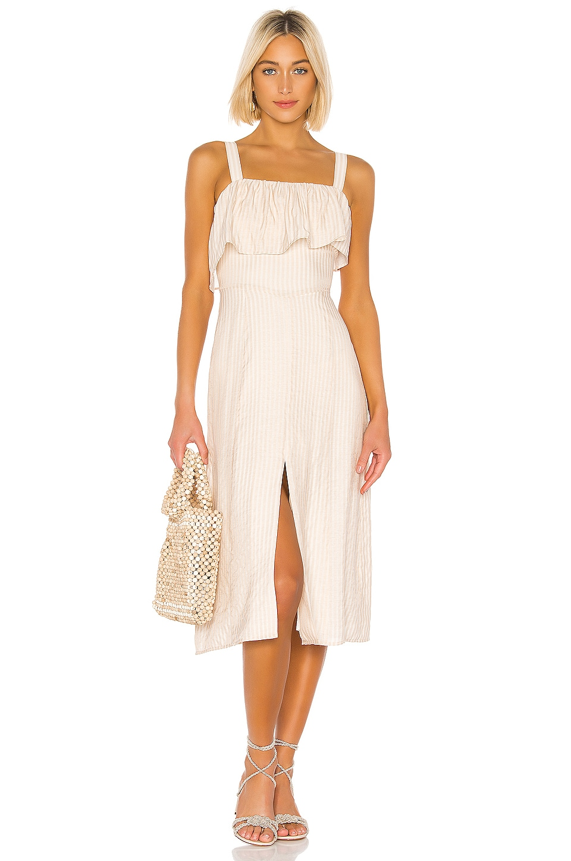 House of Harlow 1960 x REVOLVE Felicia Midi Dress in Ivory