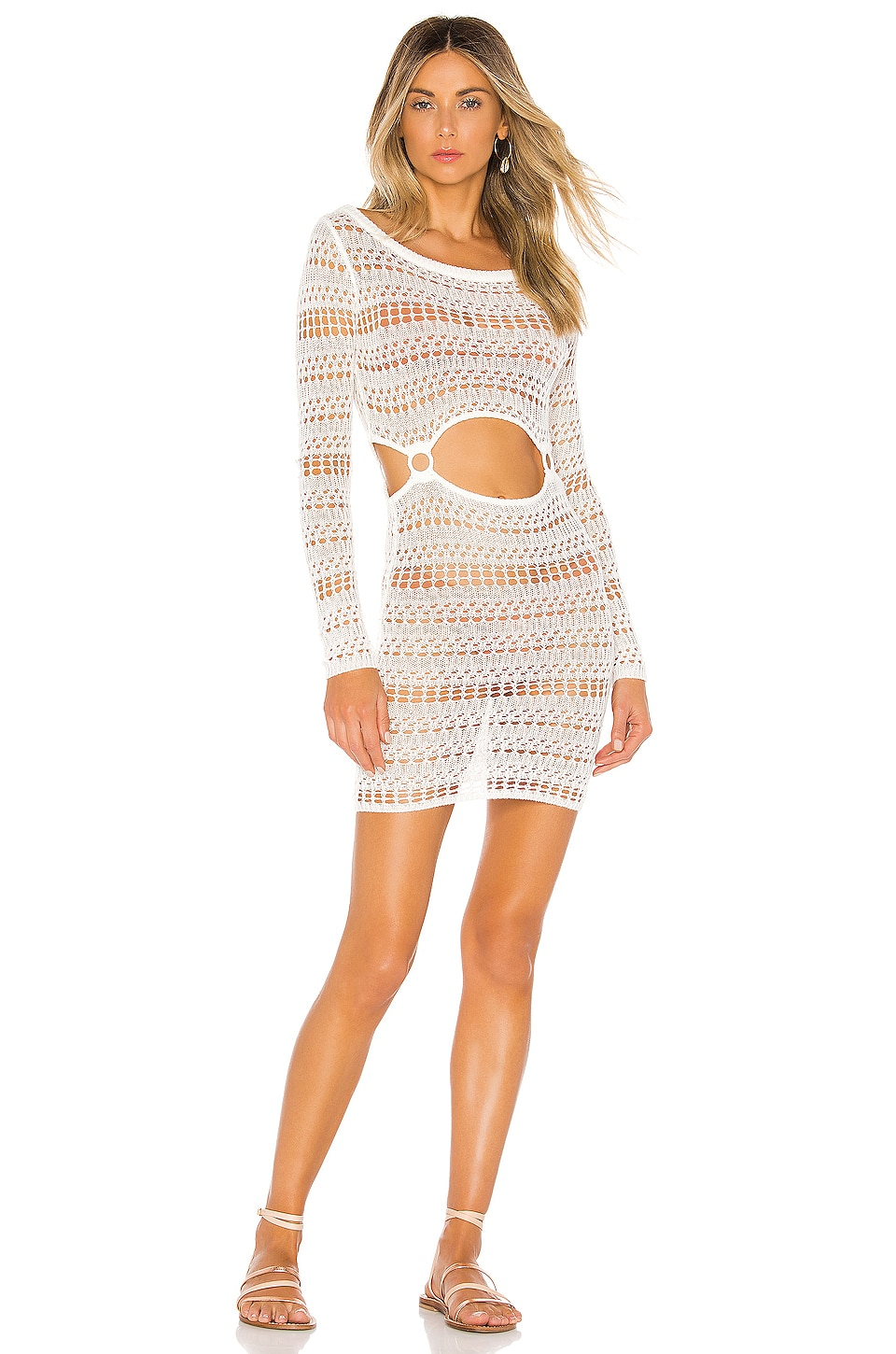 House of Harlow 1960 x REVOLVE Ace Cut Out Dress in White
