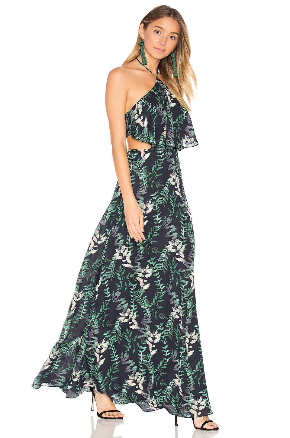 House of Harlow 1960 x REVOLVE Zoe Maxi in Falling Leaves