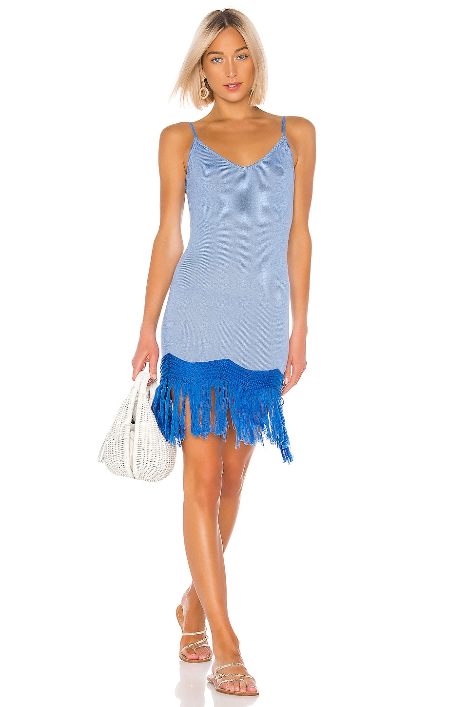 House of Harlow 1960 X REVOLVE Isla Dress in Blue