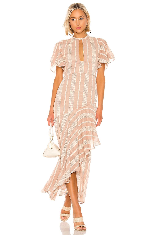 House of Harlow 1960 X REVOLVE Regina Dress in Mocha