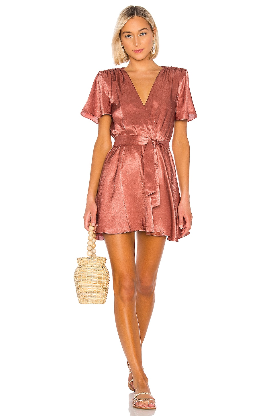 House of Harlow 1960 X REVOLVE Annika Dress in Copper