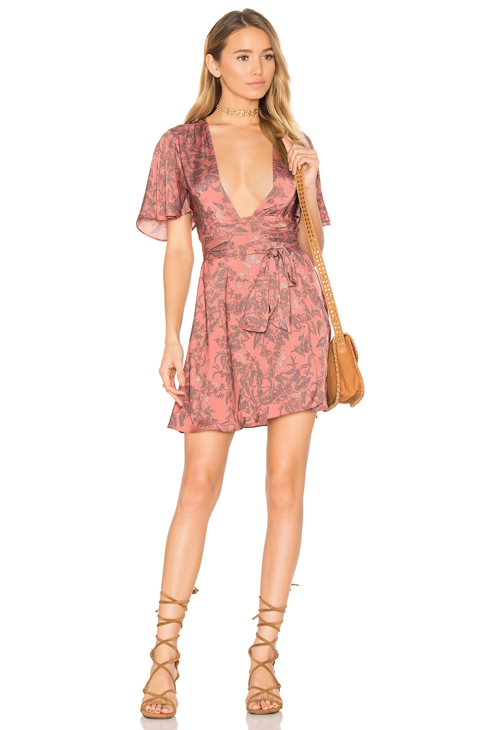 x REVOLVE Harper Wrap Dress by House of Harlow 1960