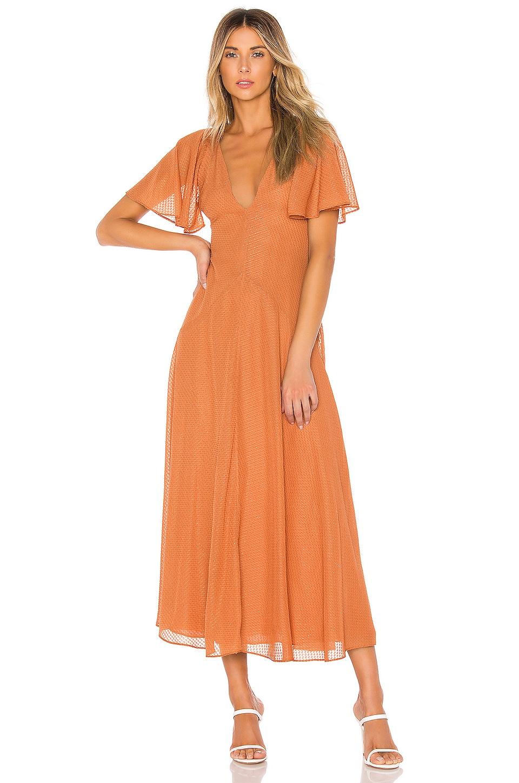 House of Harlow 1960 X REVOLVE Sevilla Maxi Dress in Peach