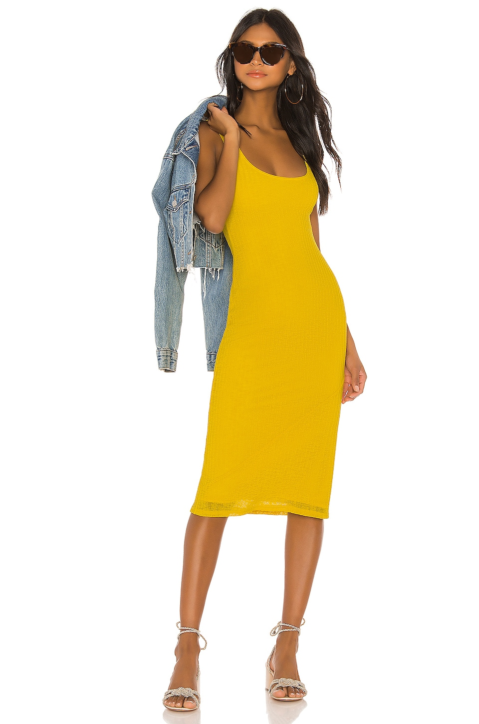House of Harlow 1960 X REVOLVE Fatima Dress in Vibrant Yellow
