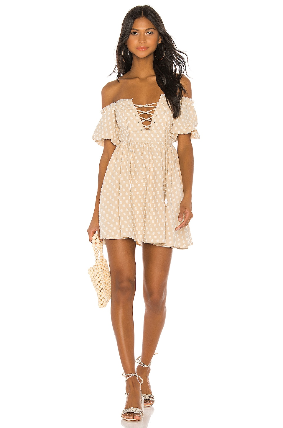 House of Harlow 1960 X REVOLVE Frans Dress in Natural