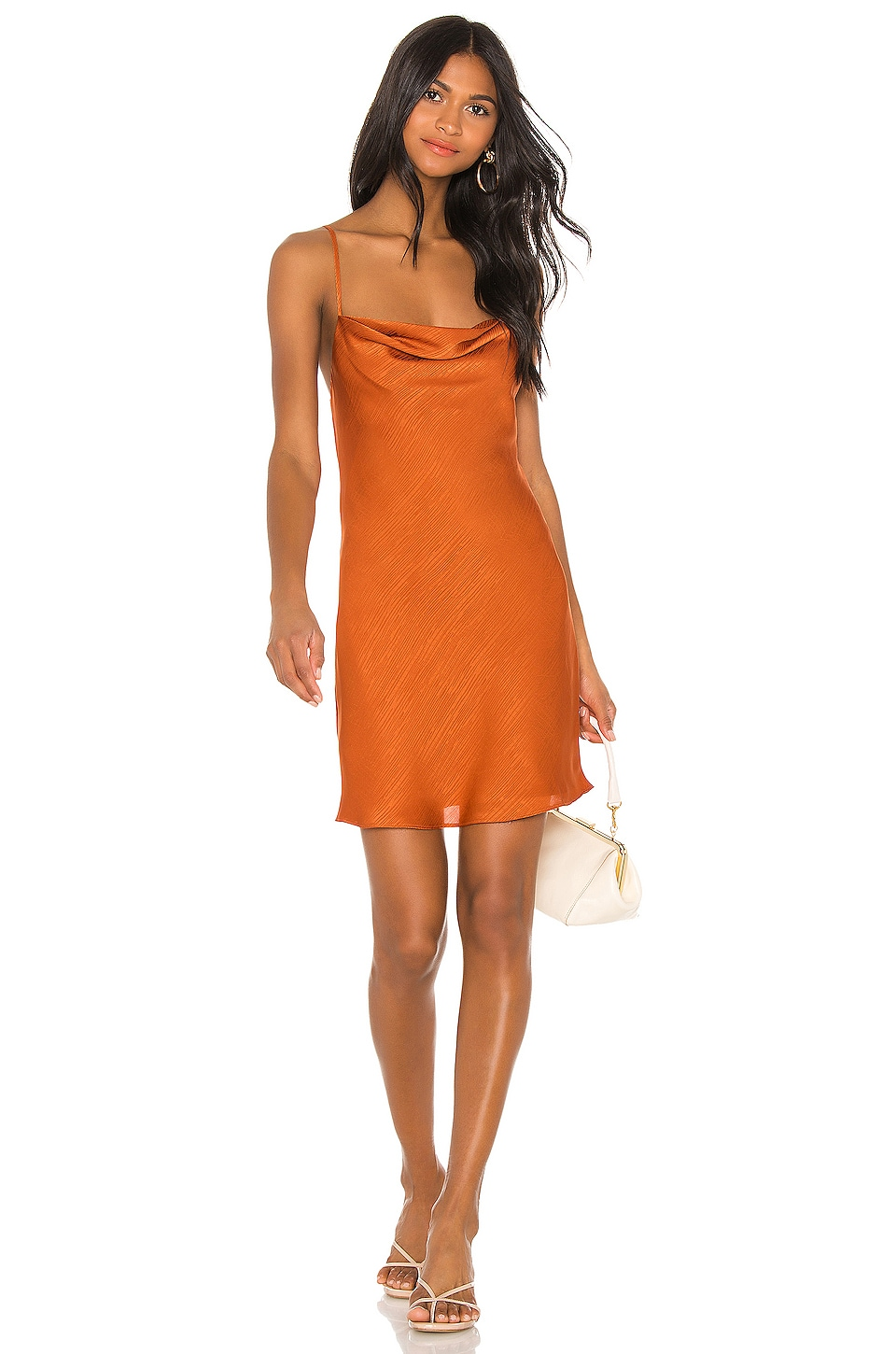 House of Harlow 1960 X REVOLVE Ira Mini Dress in Burnt Orange