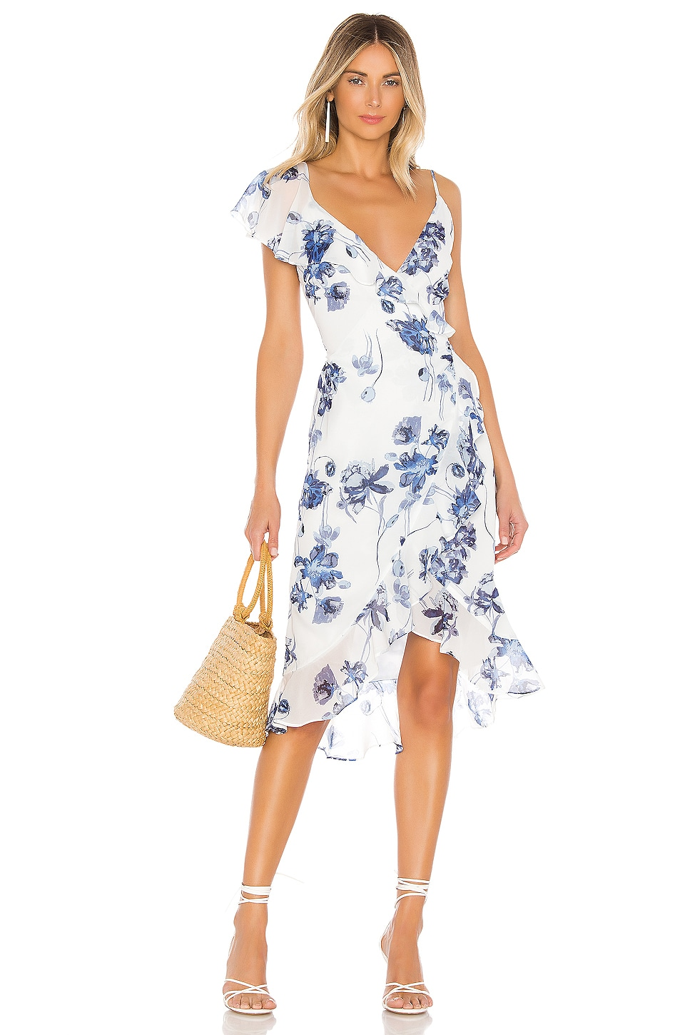 House of Harlow 1960 Dara Dress in Floral Multi