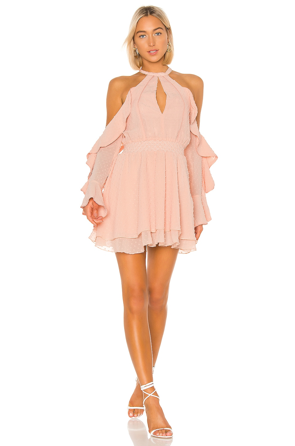 House of Harlow 1960 X REVOLVE Harmony Dress in Blush