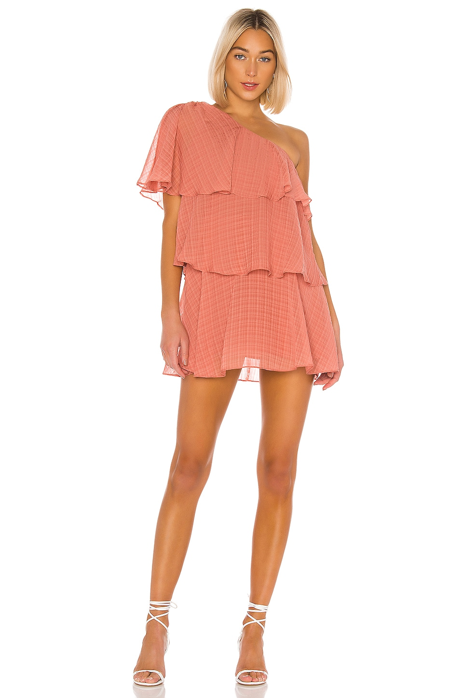 House of Harlow 1960 X REVOLVE Lillia Mini Dress in Rose