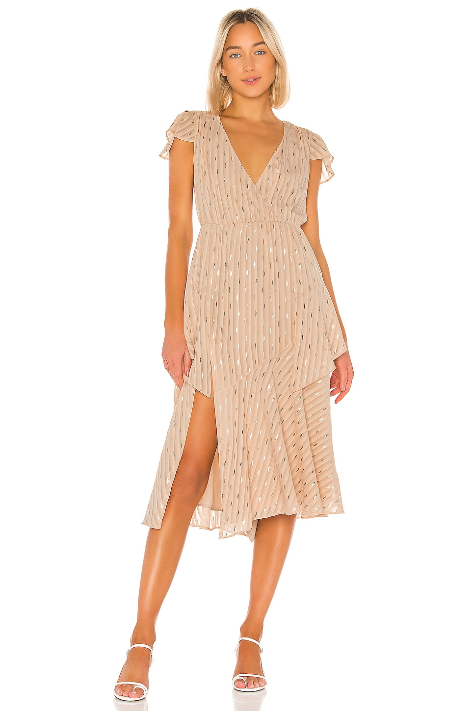 House of Harlow 1960 X REVOLVE Mota Dress in Nude