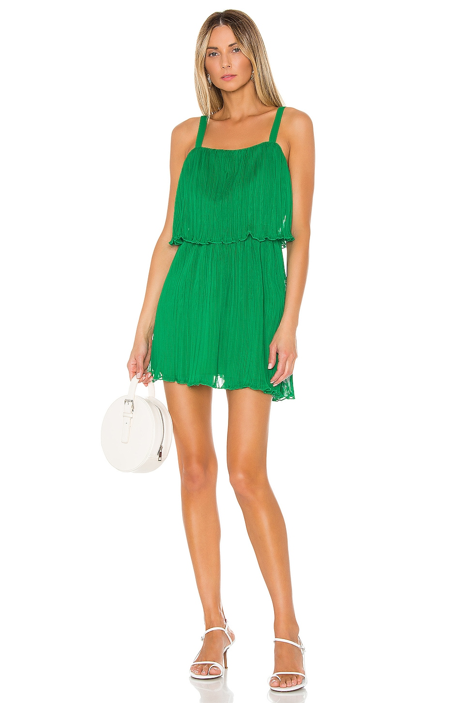 House of Harlow 1960 X REVOLVE Oakley Dress in Kelly Green