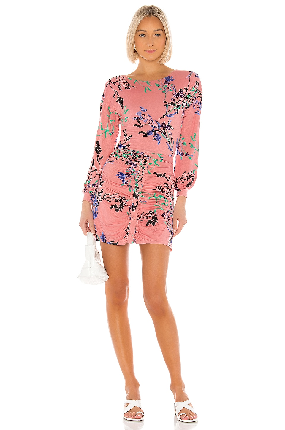 House of Harlow 1960 X REVOLVE Siri Dress in Blush Fleur