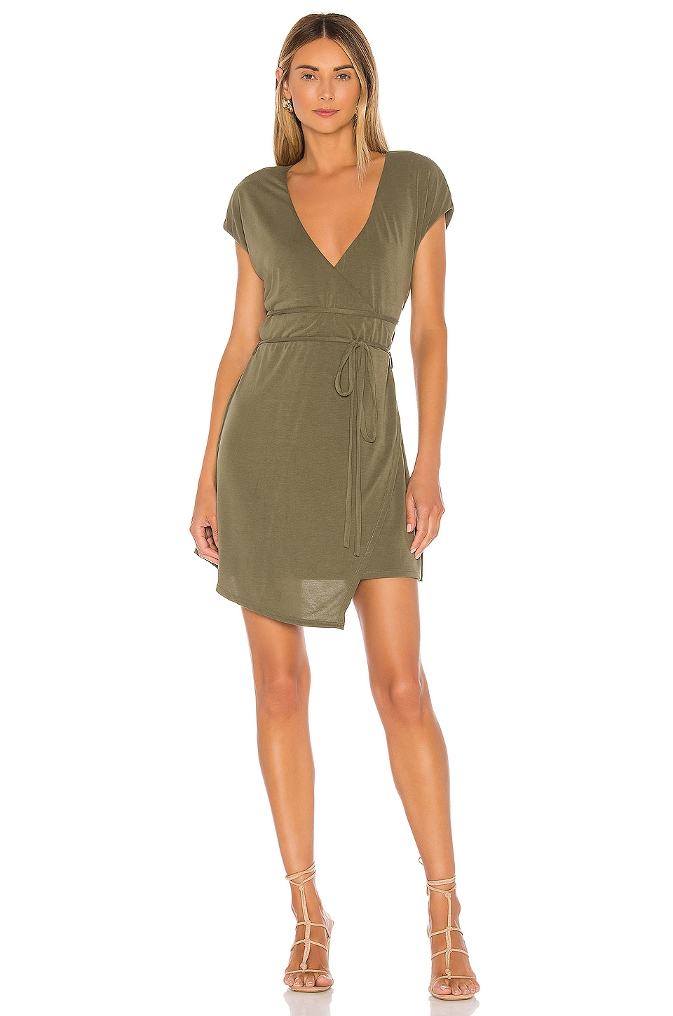 House of Harlow 1960 X REVOLVE Joanna Mini Dress in Olive Green