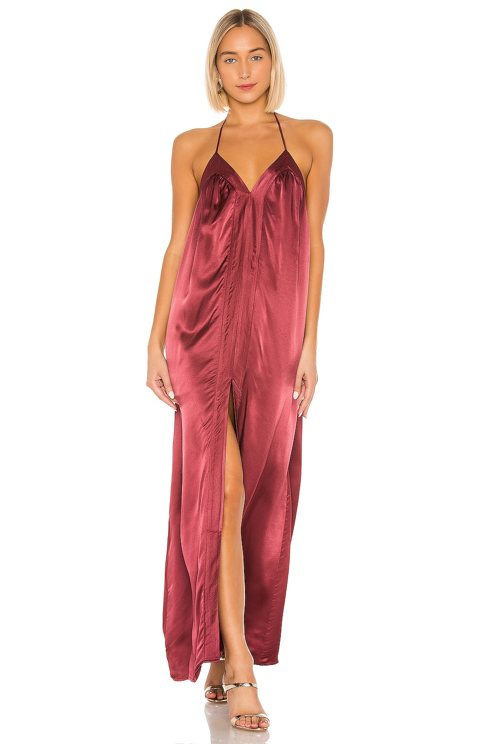 House of Harlow 1960 x REVOLVE Brynn Maxi Dress in Currant