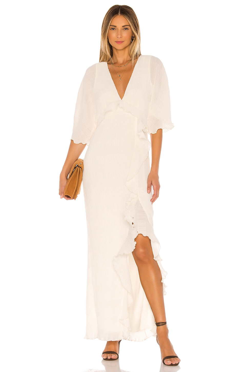 House of Harlow 1960 X REVOLVE Anabelle Maxi Dress in Ivory