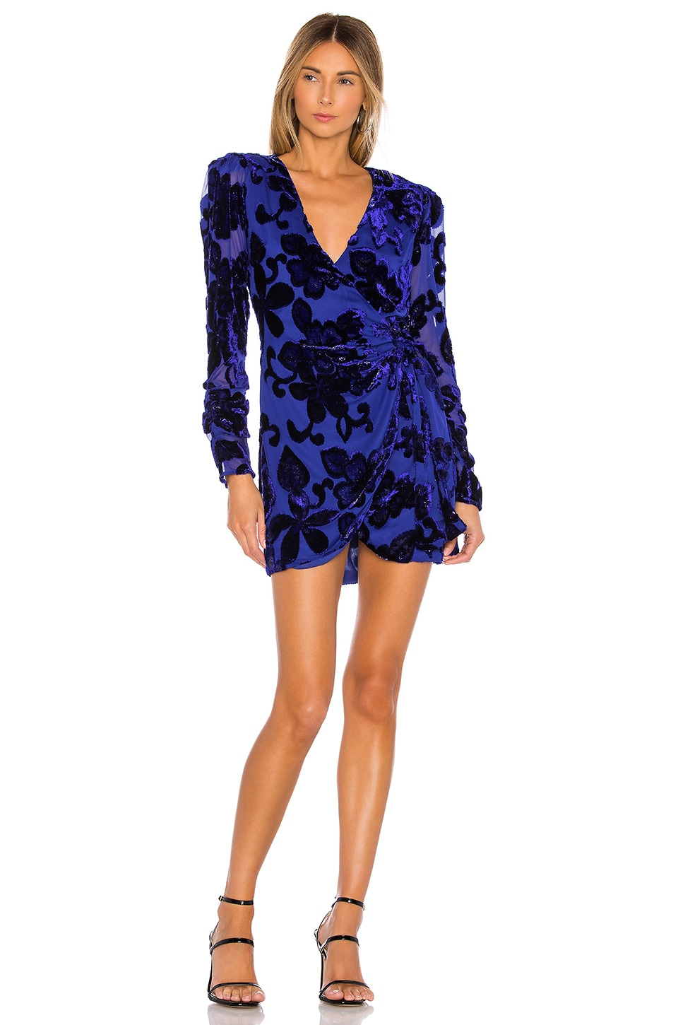 House of Harlow 1960 x REVOLVE Priscilla Dress in Sapphire Blue