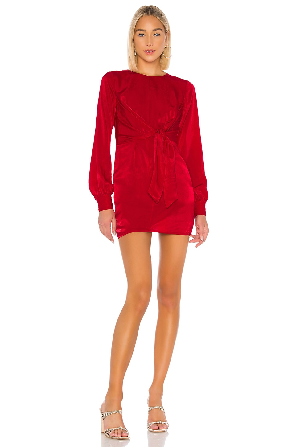 House of Harlow 1960 x REVOLVE Lotta Dress in Crimson