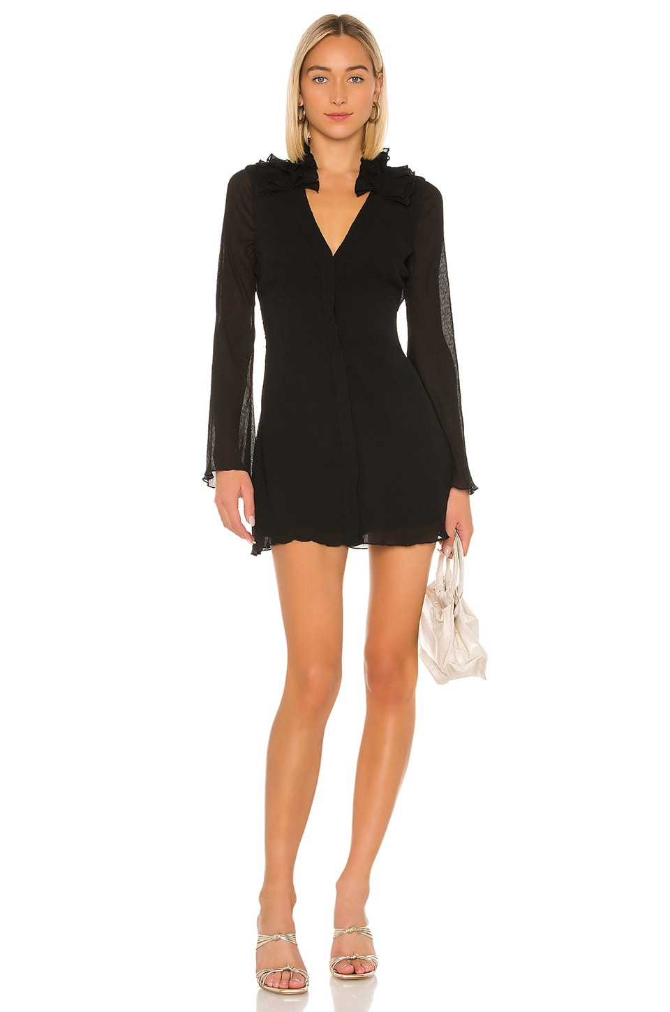 House of Harlow 1960 x REVOLVE Soleil Dress in Noir