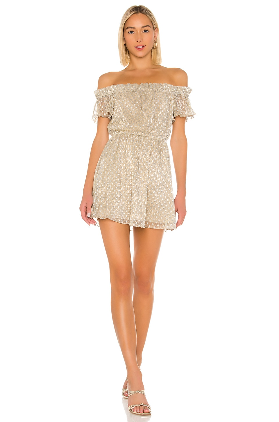 House of Harlow 1960 x REVOLVE Amoli Dress in Metallic Star
