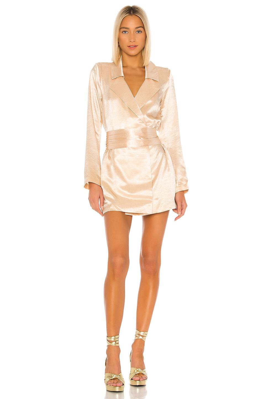 House of Harlow 1960 x REVOLVE Randa Blazer Dress in Champagne