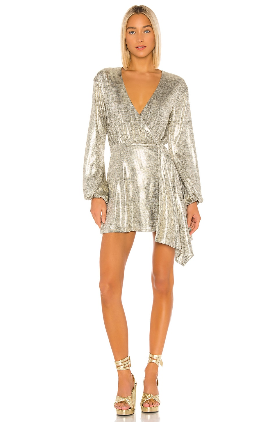 House of Harlow 1960 x REVOLVE Aniela Mini Dress in Pewter