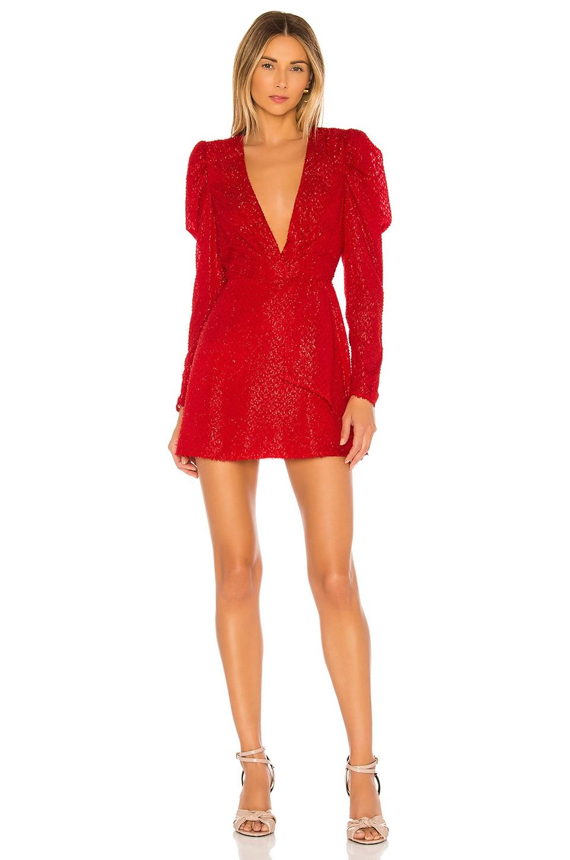 House of Harlow 1960 x REVOLVE Stefania Mini Dress in Red
