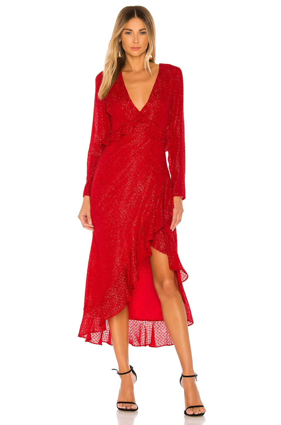 House of Harlow 1960 x REVOLVE Justina Maxi Dress in Red