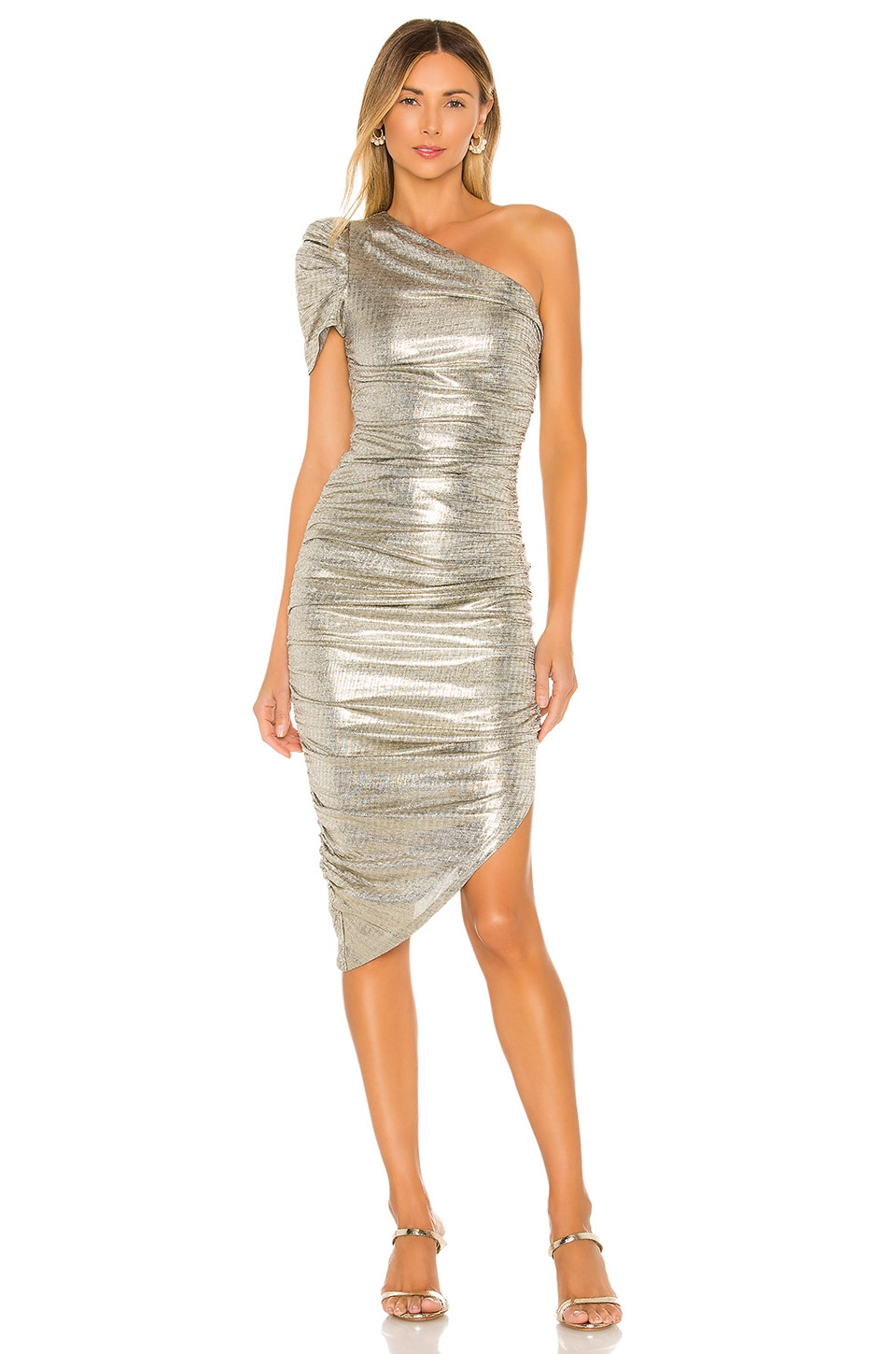 House of Harlow 1960 x REVOLVE Kalina Midi Dress in Pewter