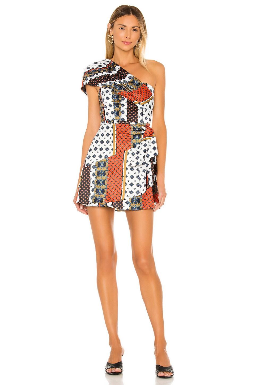House of Harlow 1960 x REVOLVE Sorina Dress in Ivory Pajama Print