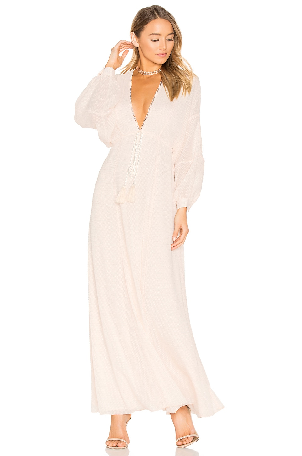 House of Harlow 1960 x REVOLVE Leslie Maxi Dress in Pearl