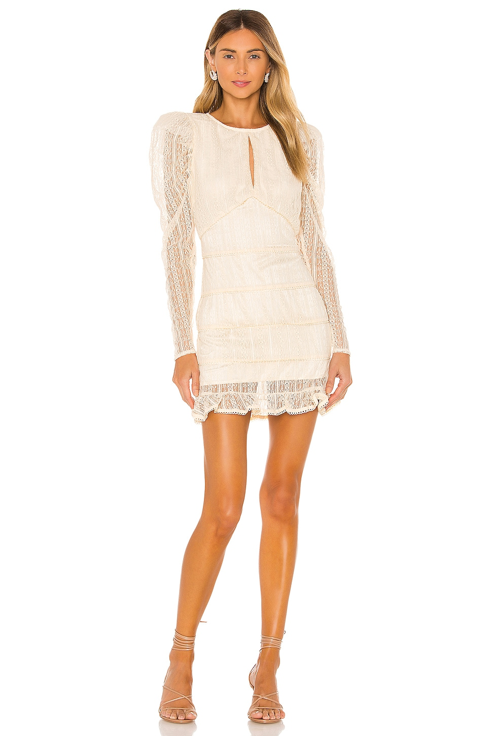 House of Harlow 1960 x REVOLVE Henrik Mini Dress in Ivory