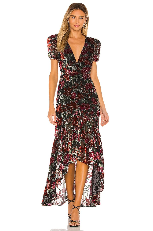 House of Harlow 1960 x REVOLVE Talita Dress in Noir Floral Multi