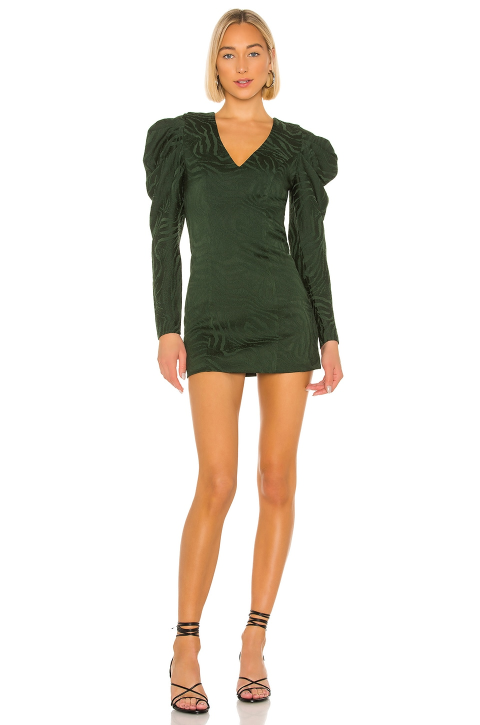 House of Harlow 1960 x REVOLVE Rhys Mini Dress in Emerald