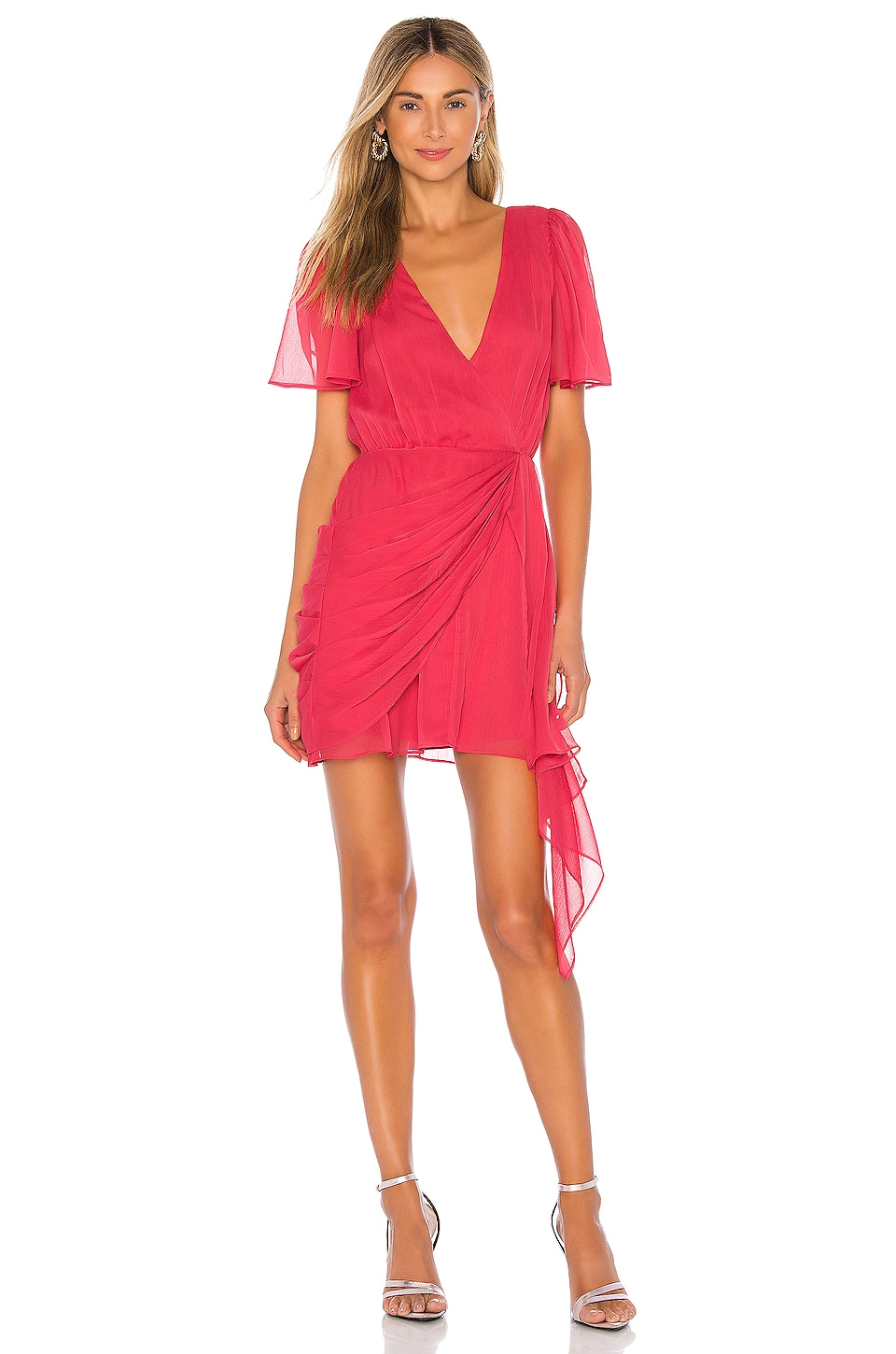 House of Harlow 1960 x REVOLVE Rosalie Dress in Coral