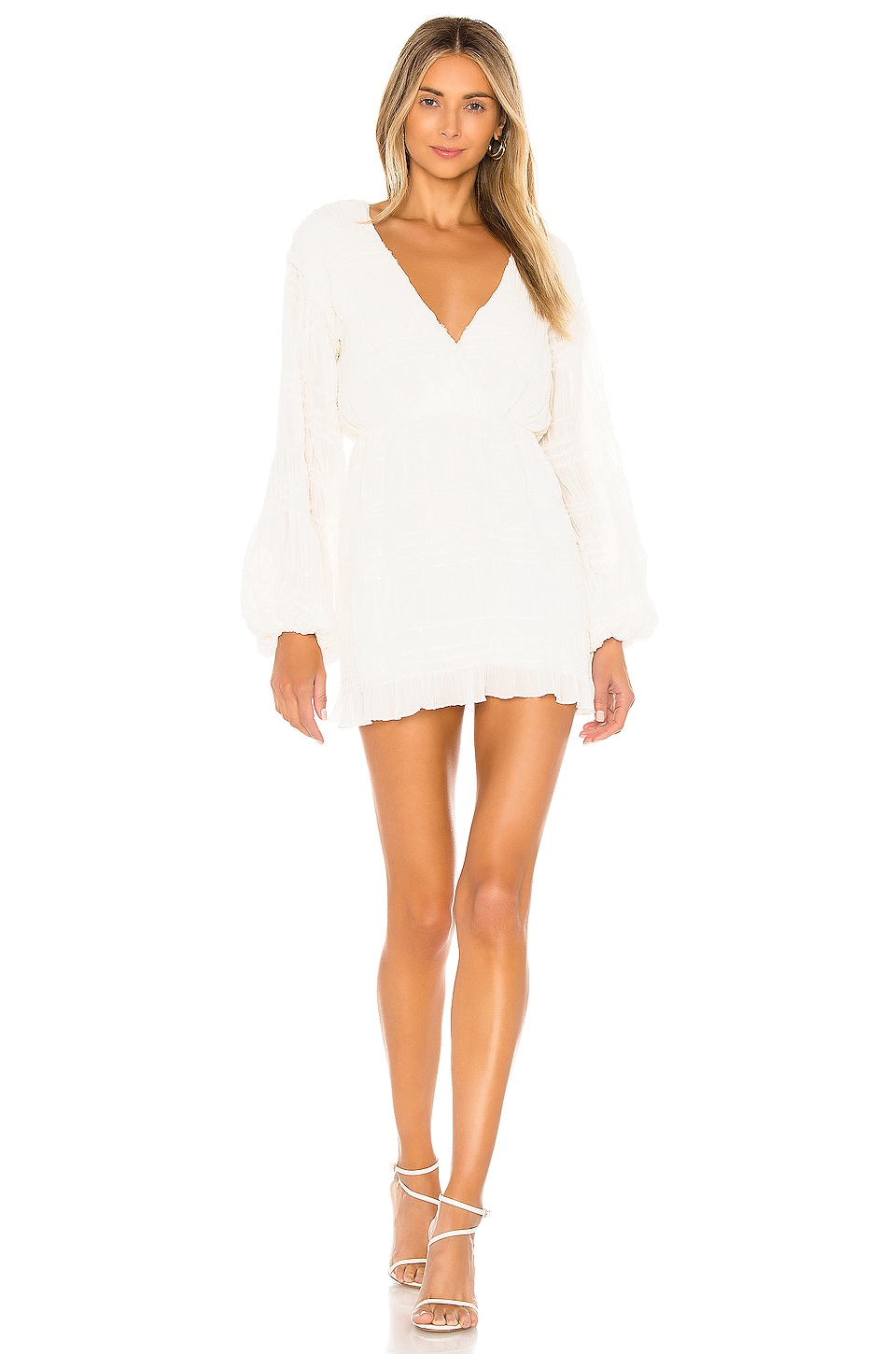 House of Harlow 1960 x REVOLVE Sylvan Dress in Ivory