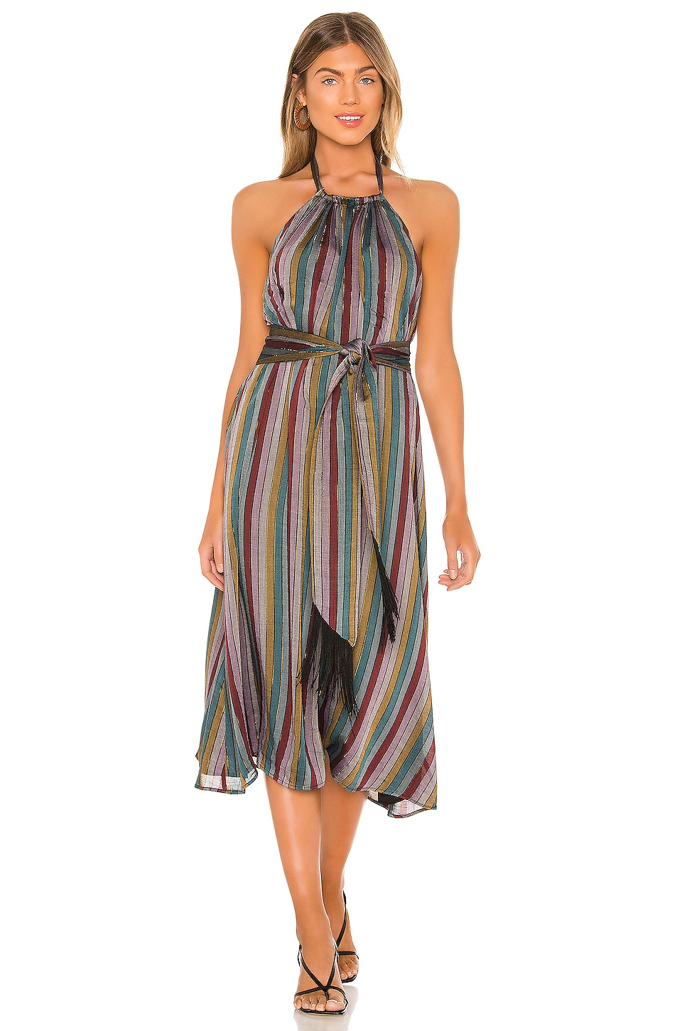 House Of Harlow 1960 X Revolve Cecily Midi Dress In Black Multi Stripe Revolve Shop for midi dresses in india buy latest range of midi dresses at myntra free shipping cod easy returns and exchanges. house of harlow