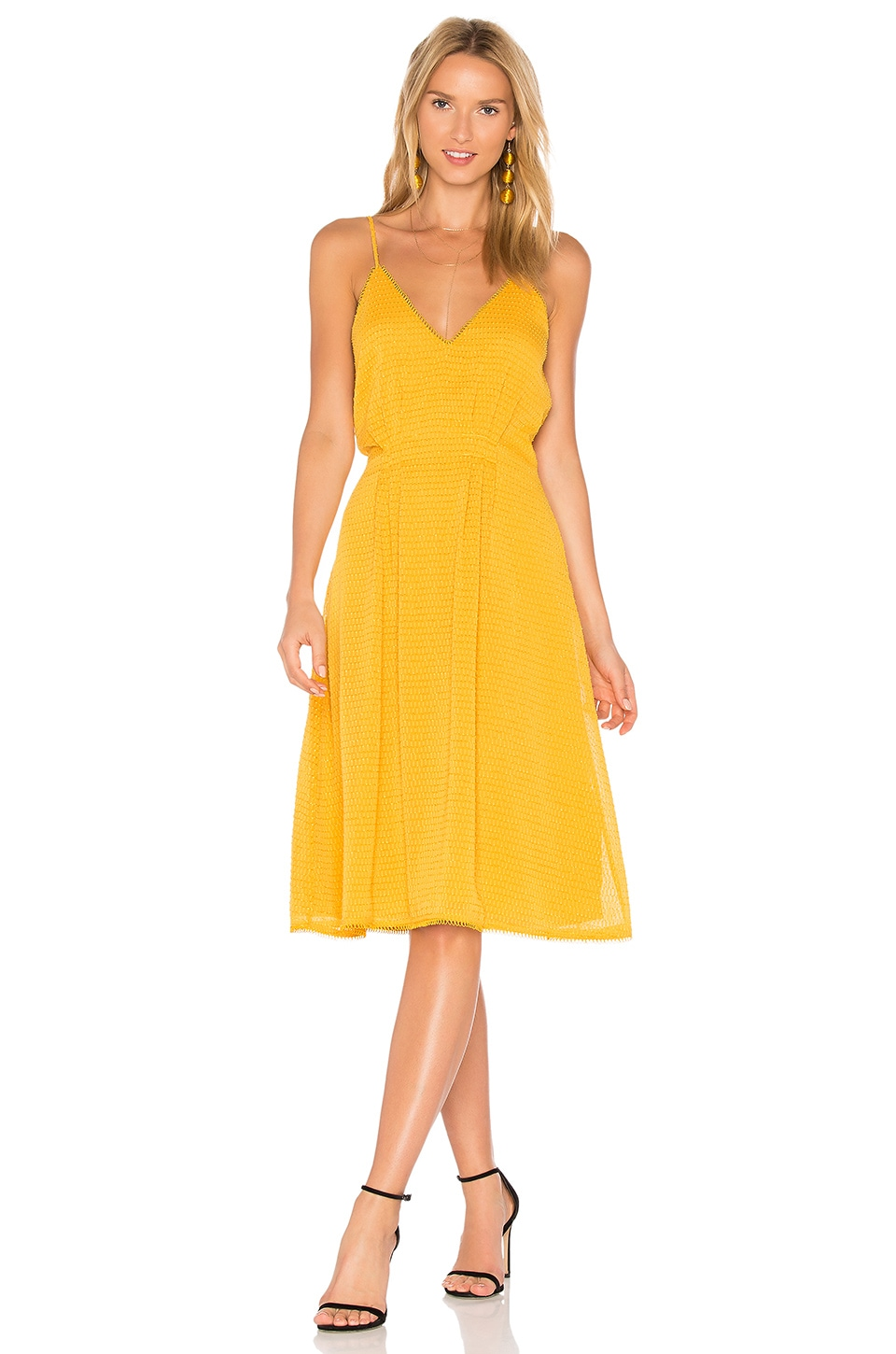 House of Harlow 1960 x REVOLVE Ines Dress in Mustard