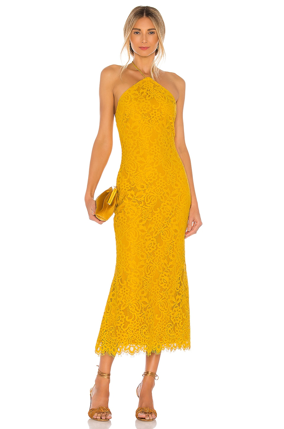 House of Harlow 1960 x REVOLVE Rosaline Dress in Yellow