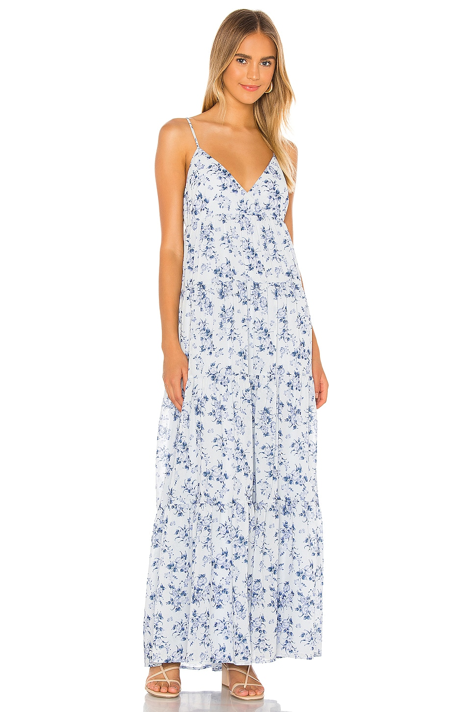 House Of Harlow 1960 X Revolve Janae Dress In Blue Floral Revolve Revolve lovers and friends black dress. house of harlow