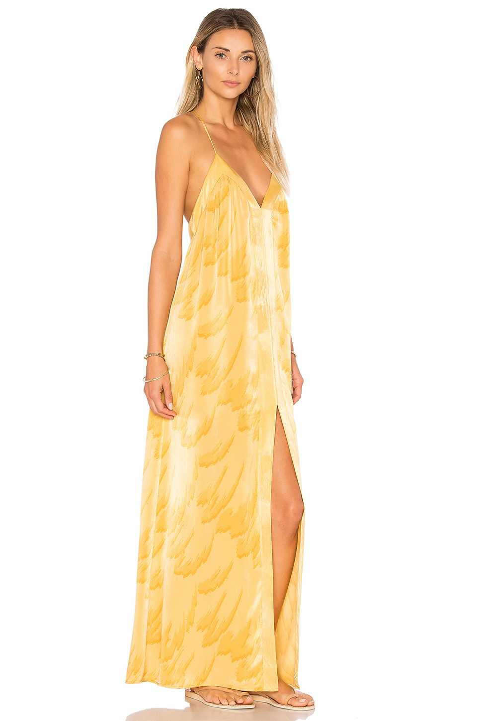 House of Harlow 1960 x REVOLVE Brynn Maxi in Feather