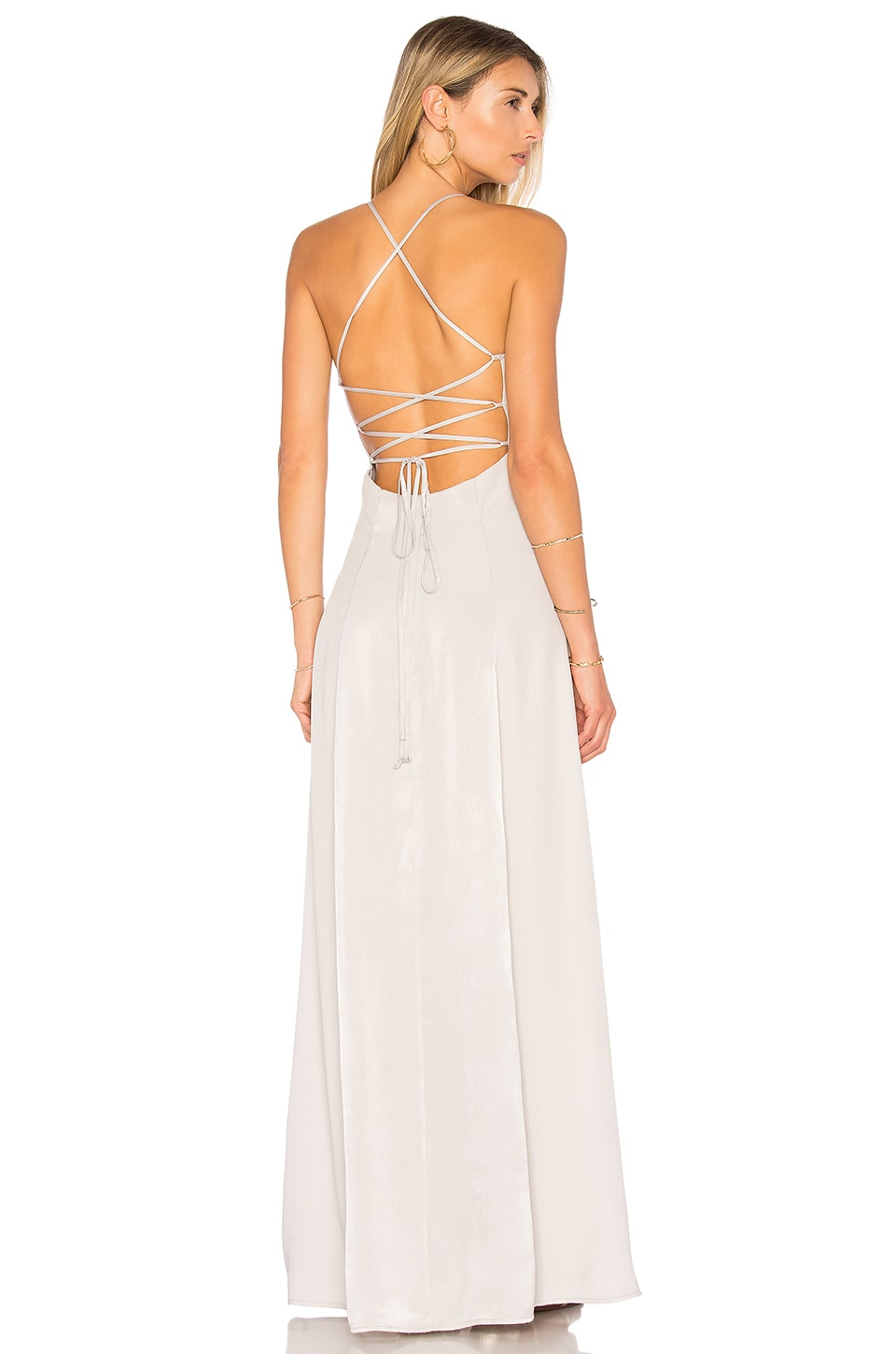 House of Harlow 1960 x REVOLVE Heidi Maxi in Silver