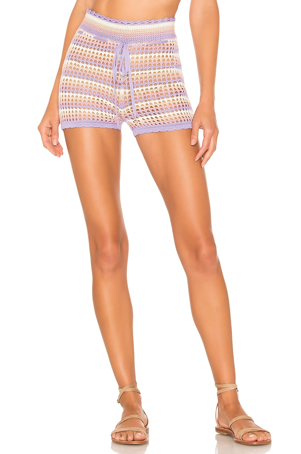 House of Harlow 1960 x REVOLVE Canyon Short in Lavender Stripe