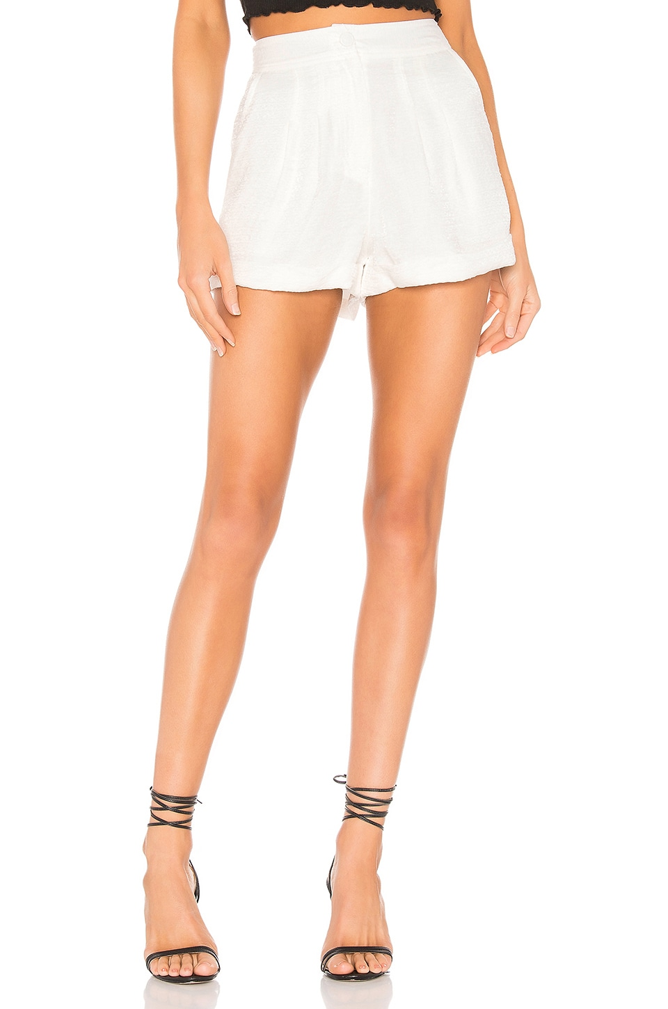 House of Harlow 1960 x REVOLVE Charlie Short in White