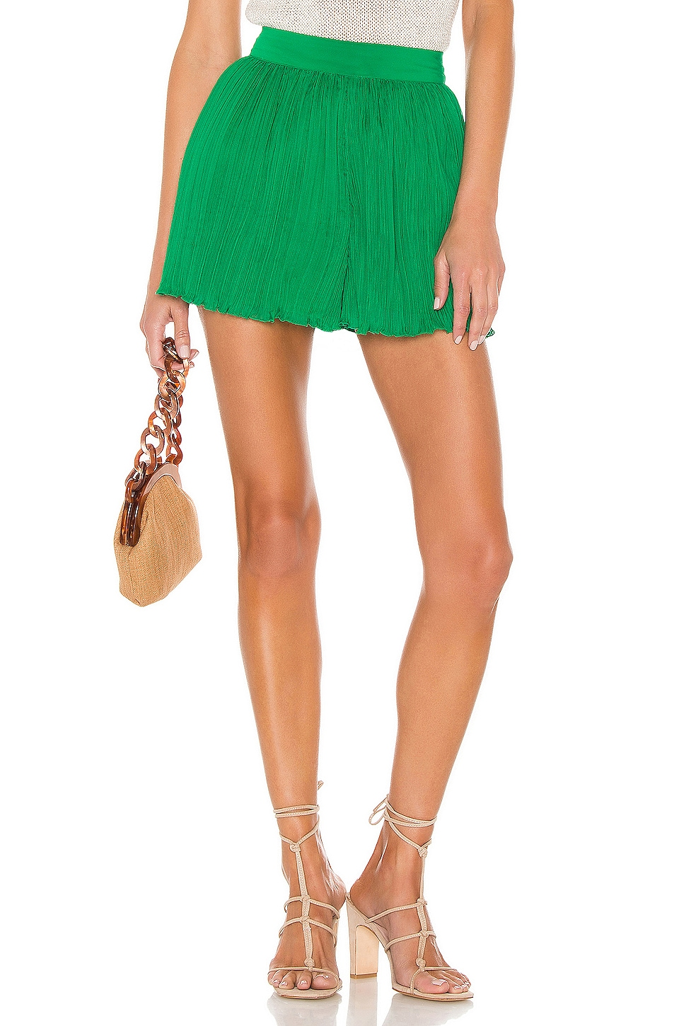 House of Harlow 1960 X REVOLVE Esther Short en Kelly Green