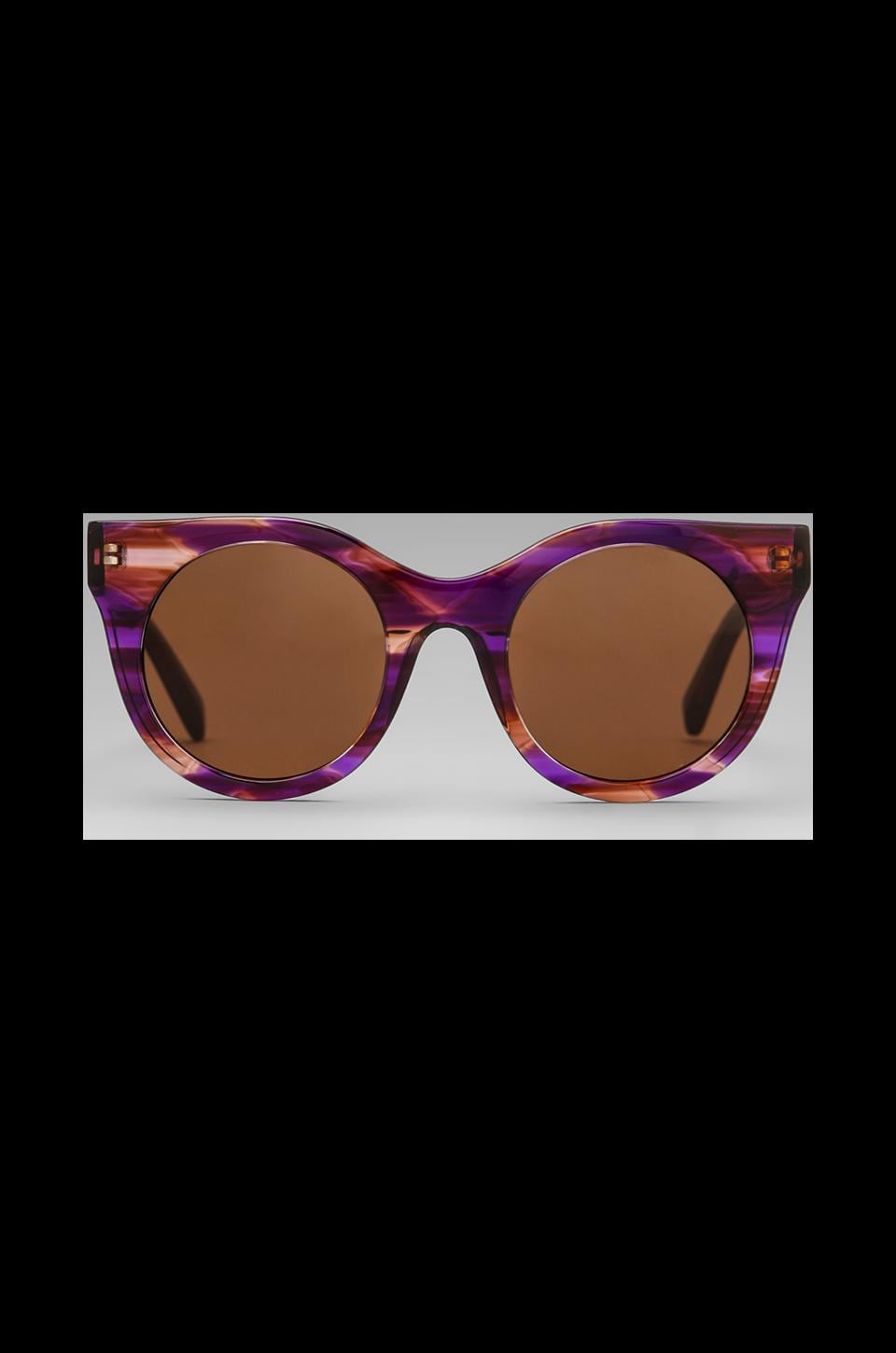 House of Harlow 1960 House of Harlow Daisy Sunglasses in Violet