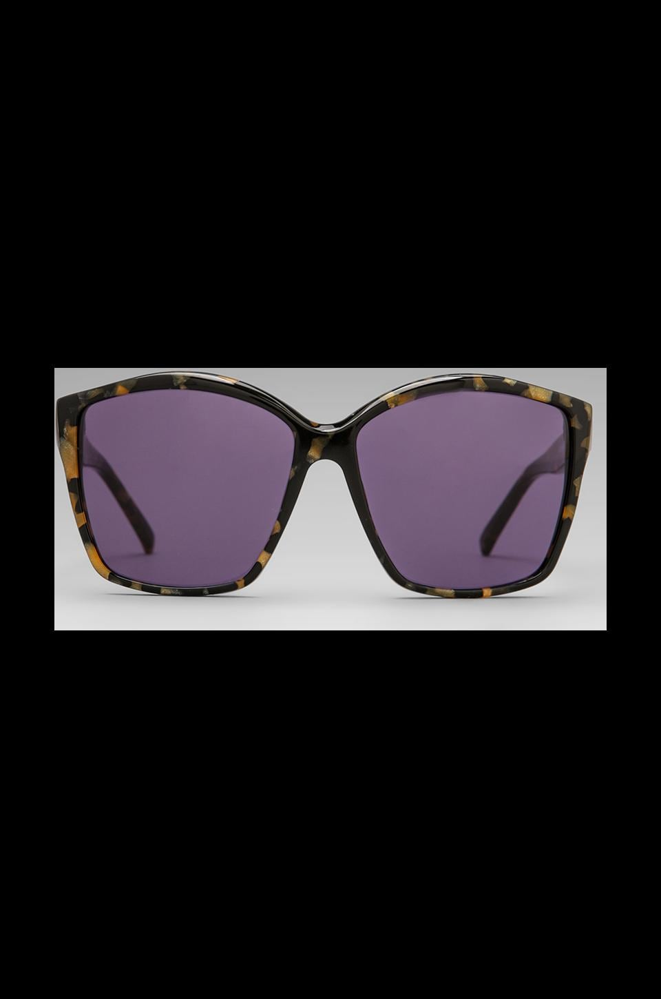 House of Harlow 1960 House of Harlow Jordana Sunglasses in Black/Gold