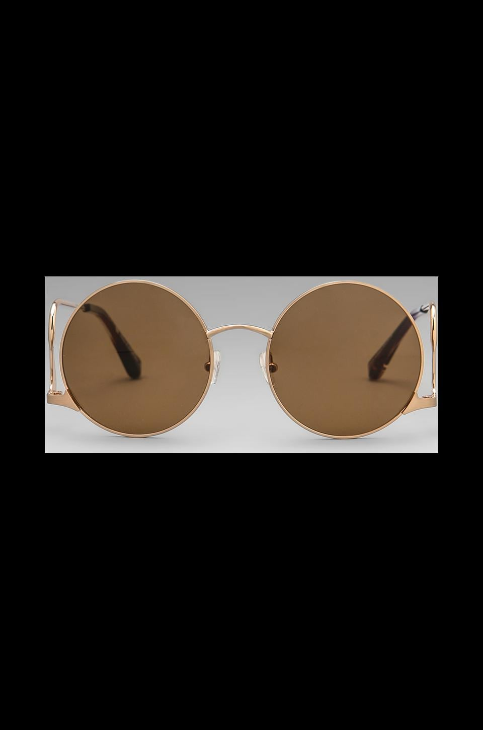 House of Harlow Layla Sunglasses in Rosegold